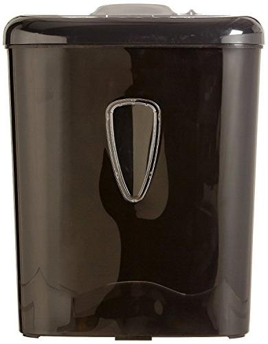 AmazonBasics 6-Sheet High-Security Paper Credit Shredder