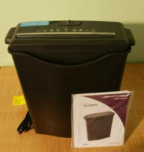 Sentinel Guard 6 Sheet Stripcut Shredder