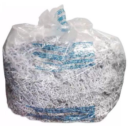 shredder bags 30 gal capacity 25 bx