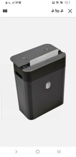 Royal ST80X 8-Sheet Crosscut Paper Shredder with Pullout Bas