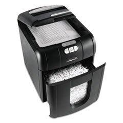 **Stack-and-Shred 100 XL Super Cross-Cut Shredder Bundle, 10