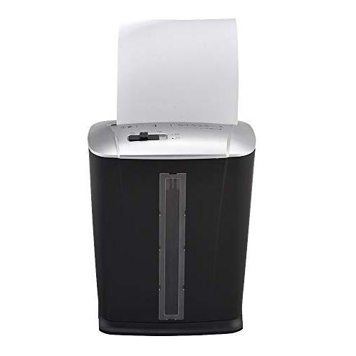 Micro-Cut Shredder Shredder with Wastebasket Bank Office