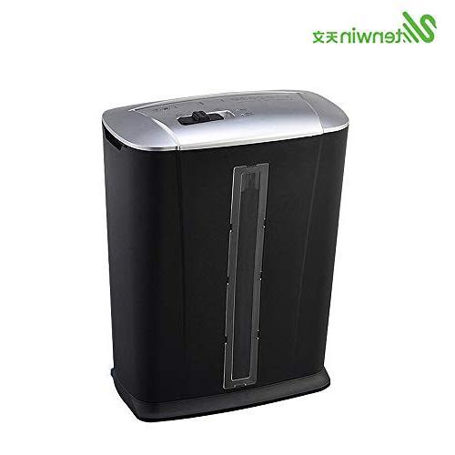Aibecy Tenwin Micro-Cut Shredder A4 Paper Shredder 3.4 Wastebasket School Bank Hospital Office