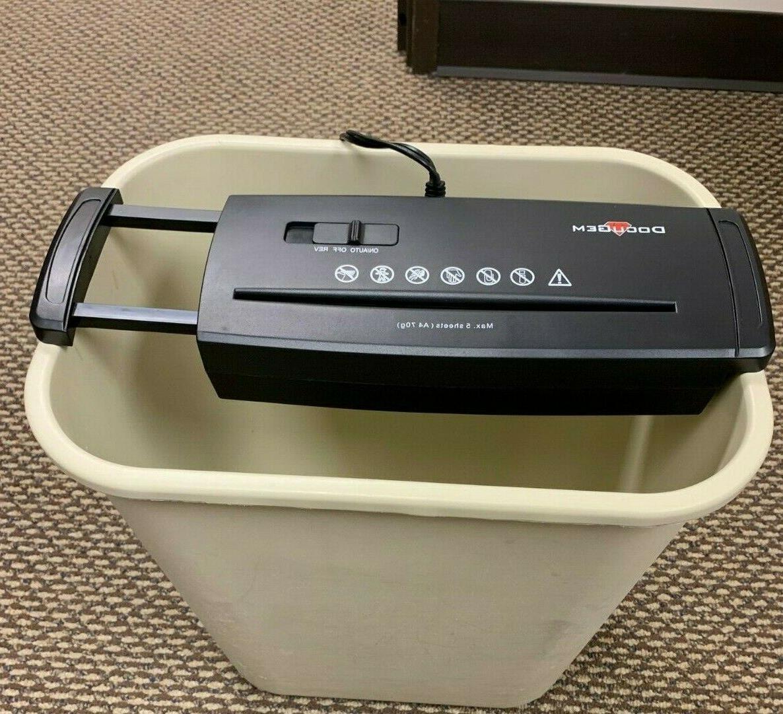 waste basket paper shredder
