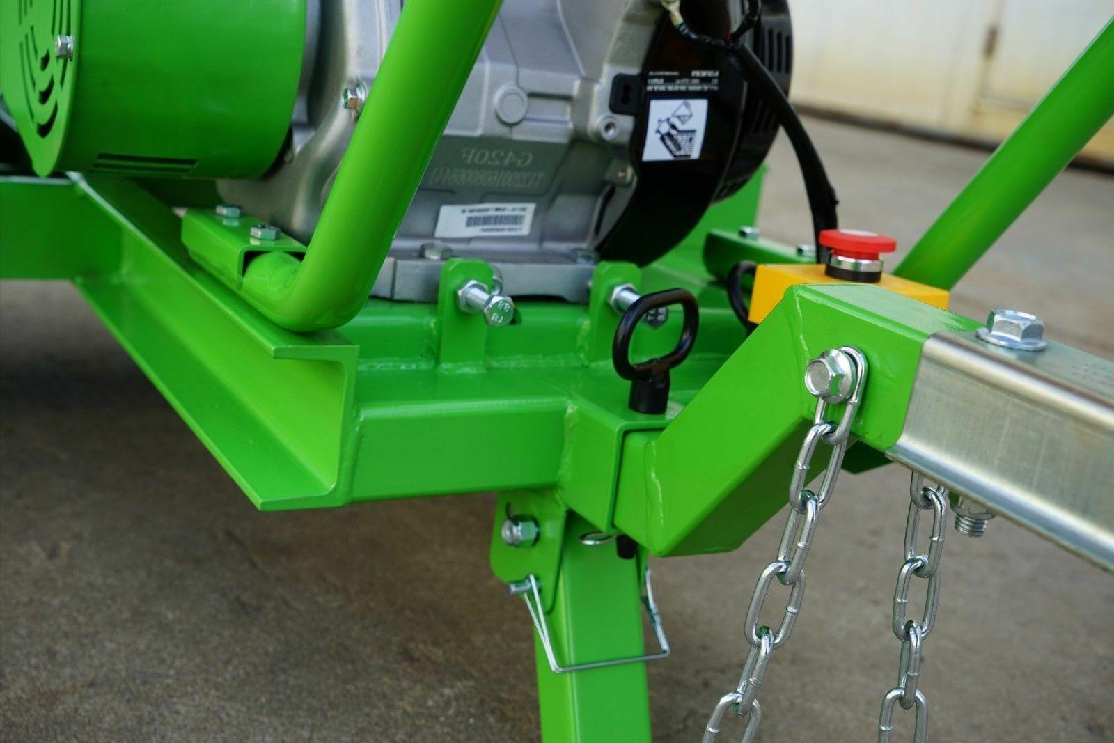 Nova Tractor chipper shredder Mulcher GTS1500 driven by Briggs