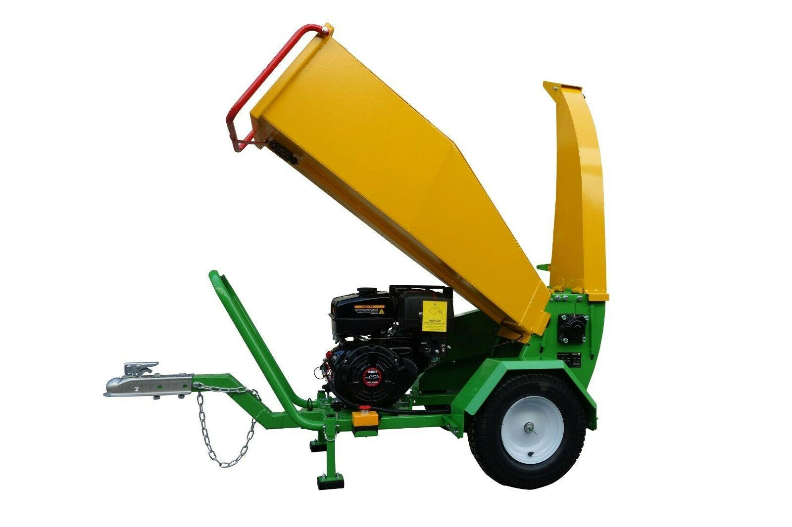 wood chipper shredder mulcher gts1500 driven by