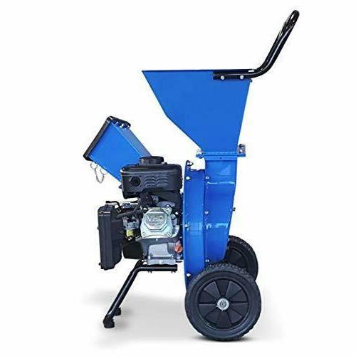 Landworks Wood Chipper Shredder Super Heavy Duty 7HP 212CC Gas Powered;