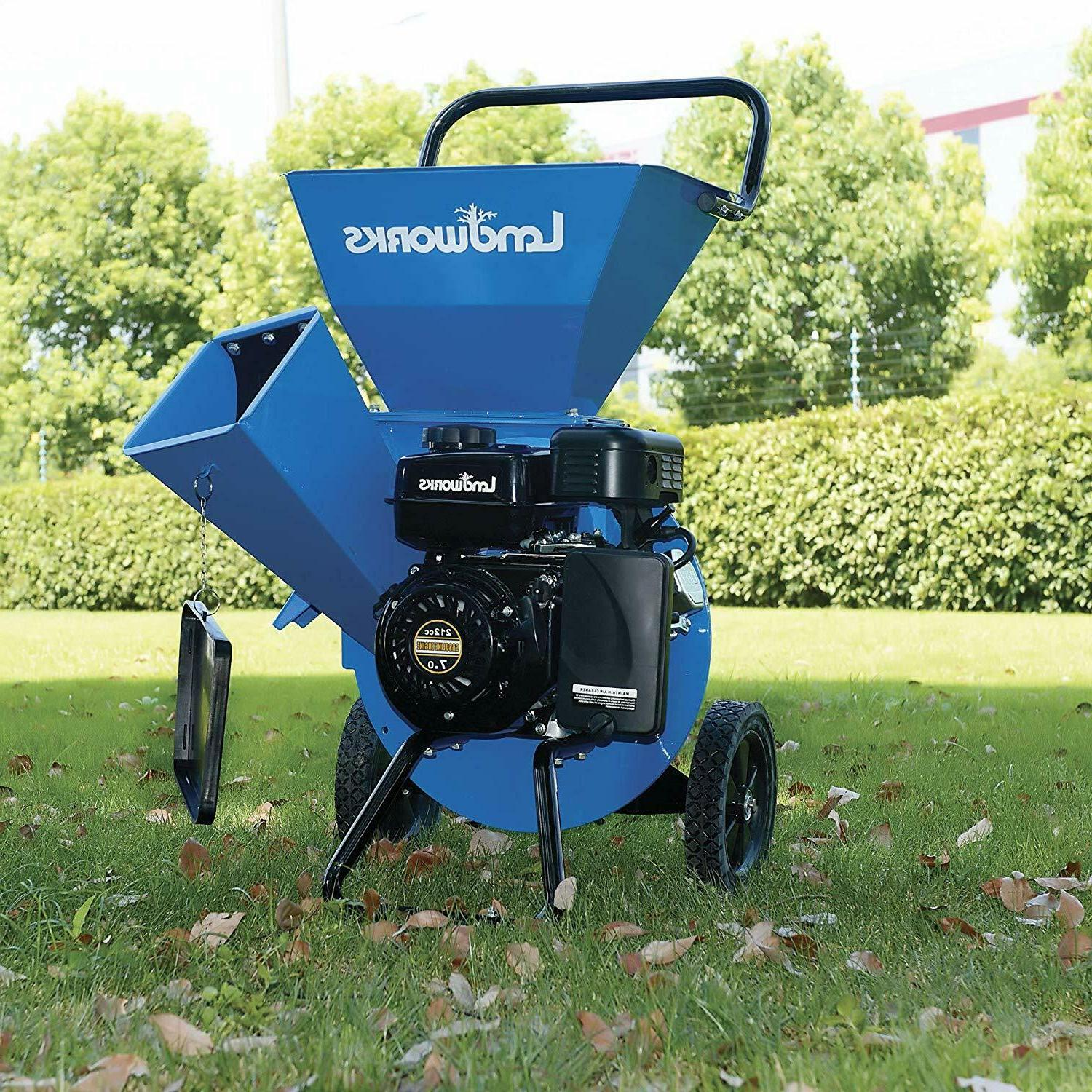 Landworks Super Duty 7HP 212CC Powered; Chipping