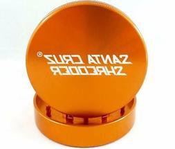 "Large 2.8"" Orange Santa Cruz Shredder Aluminum Herb Grinder"