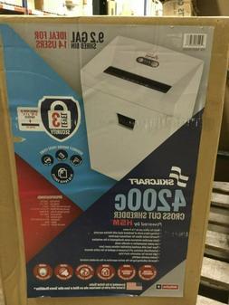 LCI Skilcraft AbilityOne 4200 C Crosscut Paper Shredder, 749