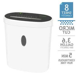 GoECOlife Limited Edition 8-Sheet Micro-Cut Shredder *** FRE
