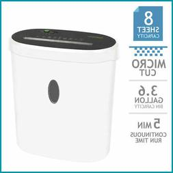 GoECOlife Limited Edition 8-Sheet Micro-Cut Shredder, Shred