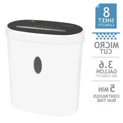 GoECOlife Limited Edition 8-Sheet Micro-Cut Shredder