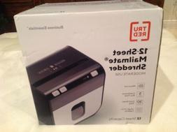 TRU RED Mailmate 12-Sheet Micro-Cut Shredder  24311723