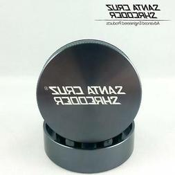 "Large 2.8"" Grey Santa Cruz Shredder Aluminum Herb Grinder 2"
