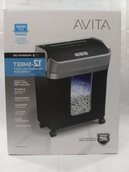 Ativa 12 Sheet Micro-Cut Shredder, OMM123P