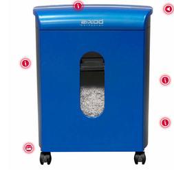 Boxis Nanoshred 10-Sheet Nanocut Shredder Blue