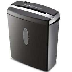 New 10 Sheet Cross-Cut Paper/Credit Card/Staples Shredder w/