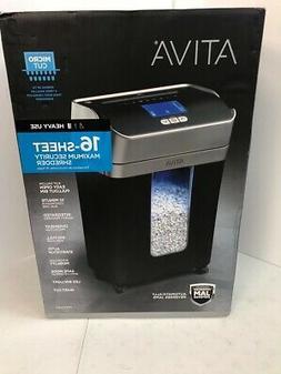 NEW ATIVA 16-SHEET MICRO-CUT SHREDDER