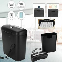 New Commercial Home Office Paper Shredder Strip Cut Credit C
