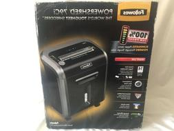NEW Fellowes Paper Shredder Cut 18 Sheet Credit Card Cross O