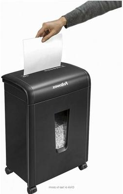 New Fellowes Powershred 10MC Micro-Cut Paper Shredder 10 Sh