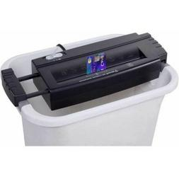 Office Paper Credit Card Shredder 6-Sheet Strip Cut without