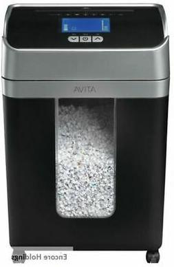 Ativa OMM163P 16-Sheets Micro-Cut Shredder - Black