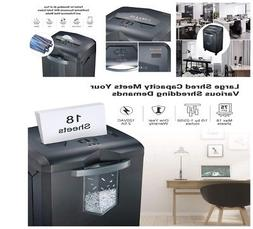 Paper CD Credit Shredder For Home Office Use Heavy Duty Cros