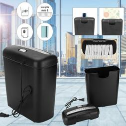 Paper Shredder Home Office Commercial Document Strip Cut Cre