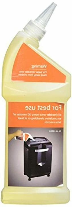Bonsaii Paper Shredder Lubricant Oil for Home Tools 400ml