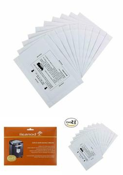 """Paper Shredder Lubricant Sheets  and Sharpening 8 1/2"""" x 6"""""""