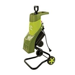 Portable 14 Amp Electric Wood Leaf Chipper Shredder With Whe