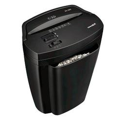 Fellowes Powershred 11C-H Cross-Cut Paper Shredder - Black B