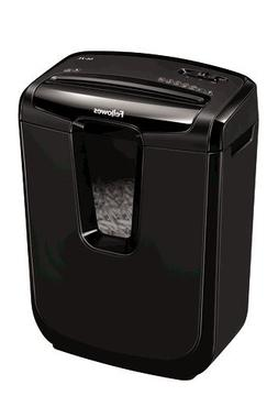 Fellowes Powershred M-7C Cross-Cut Personal Shredder - Black