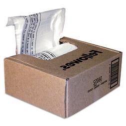 * Powershred Shredder Bags, 6-7 gal Capacity, Clear, 100 Bag