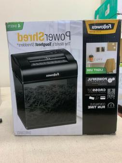 Fellowes Powershred Shredmate Paper Shredder Black 4 Sheet