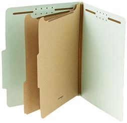AmazonBasics Pressboard Classification File Folder with Fast