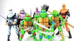 "NECA SDCC Teenage Mutant Ninja Turtles FOOT CLAN ARCADE 6"" A"