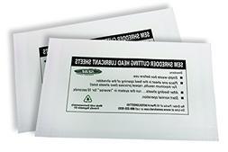 SEM Bio-Based Lubrication Sheets for Paper Shredders - 10 pa