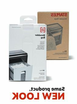 Staples Shredder Bags 15.8 Gal  50/Pack 424154