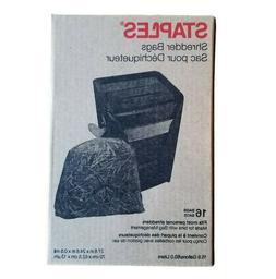 Staples Shredder Bags, 15.8 Gal, 16 Count