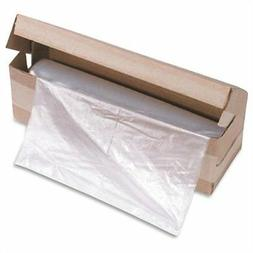 Hsm Of America Shredder Bags, 58 Gallon Capacity, 100/Roll