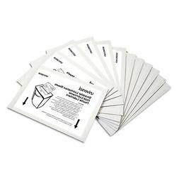 "Universal Shredder Lubricant Sheets 5.5"" x 2.8"" 24/Pack 3802"