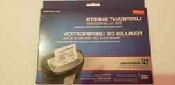 Staples Shredder Lubricant Sheets for All Shredders. 12 shee