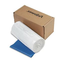 Fellowes Shredder Waste Bags 14-20 gal Capacity 50/CT 36054