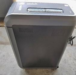 silentshred commercial sb 125ci powershred paper shredder