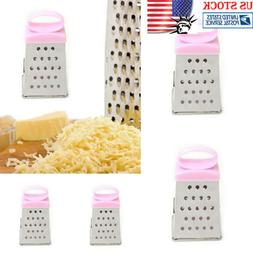 Stainless Steel 4-Sided Box Vegetable Grater Cheese Slicer S