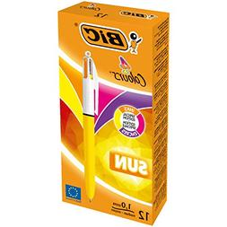 BIC 949897 4 Colours Sun Ballpoint Pen