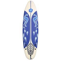 Giantex 6' Surfboard Surf Foamie Boards Surfing Beach Ocean